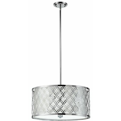 Dauphine 5-Light Drum Pendant