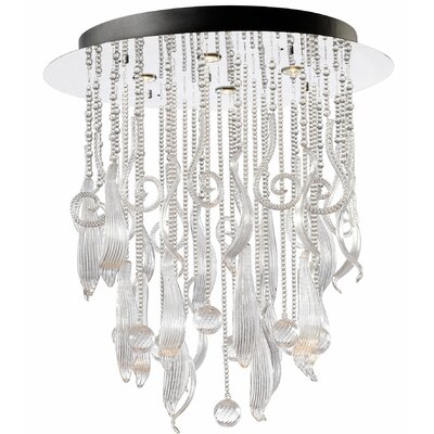 Mirabelle 4-Light Flush Mount