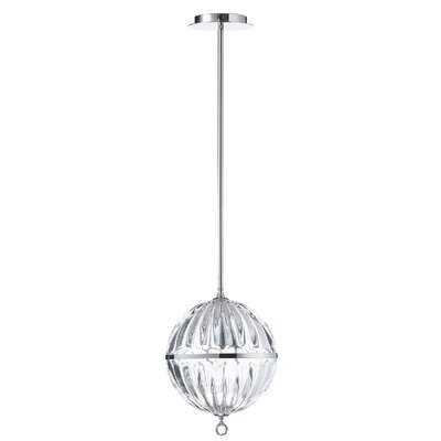 1-Light Globe Pendant Size: Small