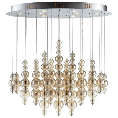 Bubbles Cash 8-Light Pendant