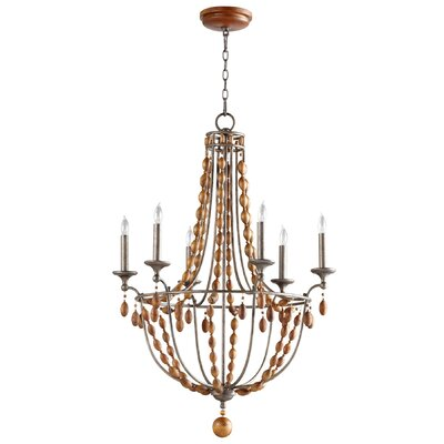 Middleton 6-Light Candle-Style Chandelier