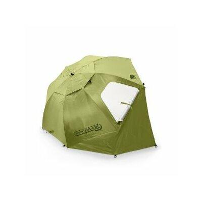 large green patio umbrella