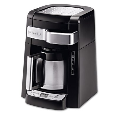 DeLONGHI 10-Cup Frontal Access Coffee Maker - DLODCF2210TTC 309270948