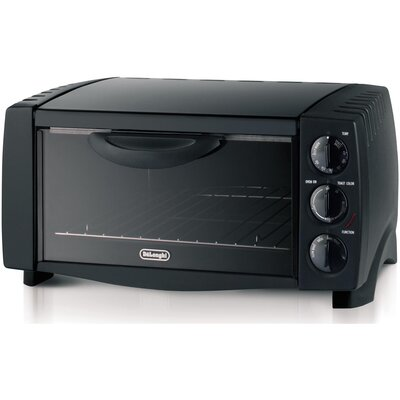 Six Slice Toaster Oven In Black