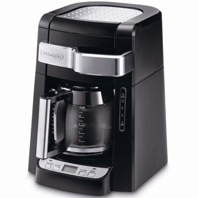 DeLonghi DCF2212T 12 Cup Glass Carafe Drip Coffee Maker