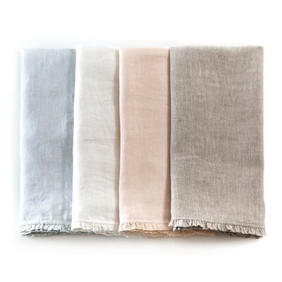 Charlie Pillowcase Color: Flax, Size: King