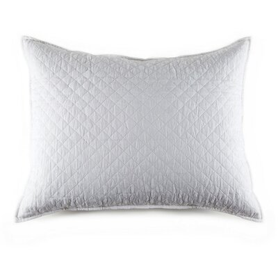 Hampton Cotton Lumbar Pillow Color: White