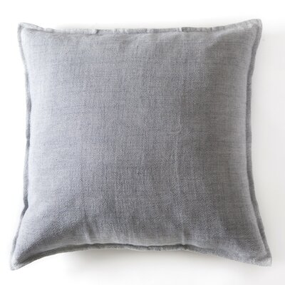 Montauk Linen Euro Pillow Color: Ocean