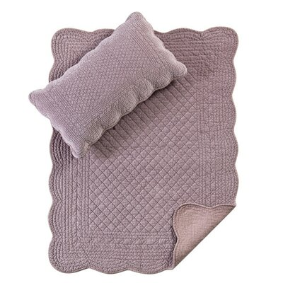 Juliet Baby Crib Coverlet Color: Lilac