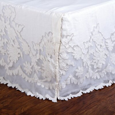 Caprice Pearl Bed Skirt Size: Queen