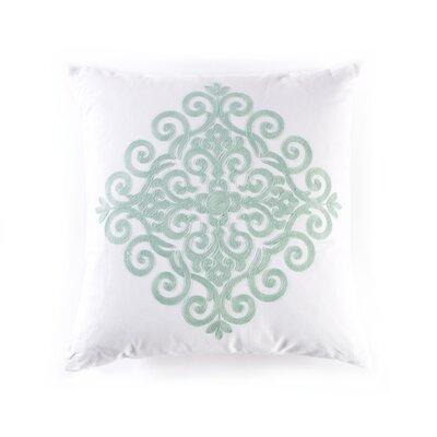 Catalina Cotton Throw Pillow Color: Seafoam