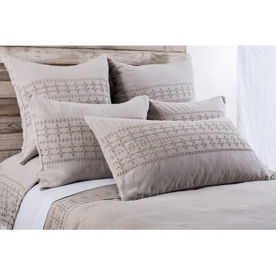 Layla Sham Size: King, Color: Taupe