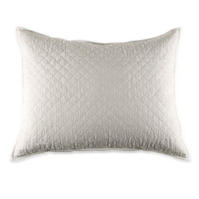 Hampton Cotton Lumbar Pillow Color: Flax
