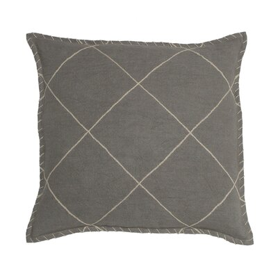 Hudson Linen Pillow Cover Color: Graystone