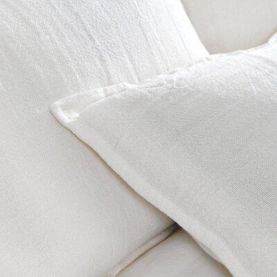Montauk Sham Color: Cream, Size: King