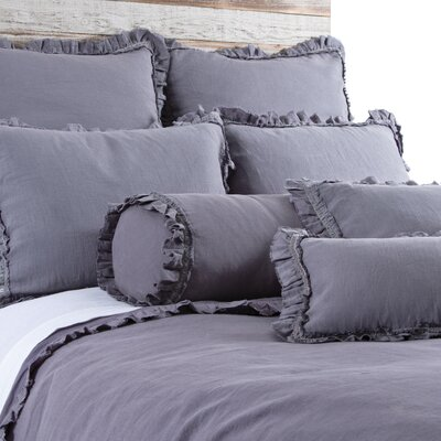 Mathilde Duvet Size: Queen, Color: Slate
