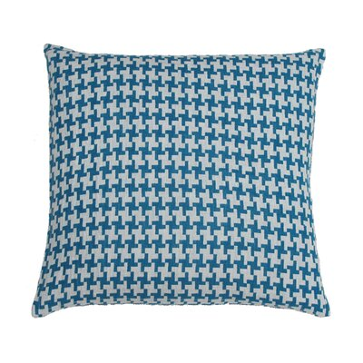Gwen Linen Pillow Cover Color: Aqua