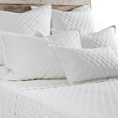 Hampton Coverlet Size: Twin, Color: White