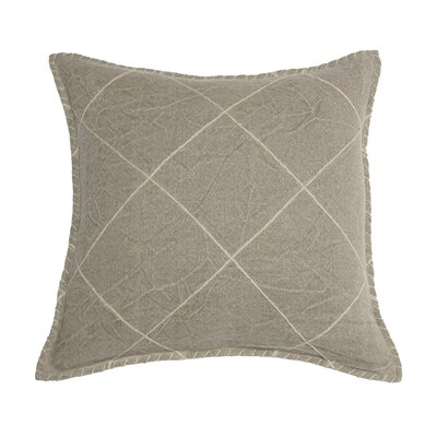 Hudson Linen Pillow Cover Color: Natural