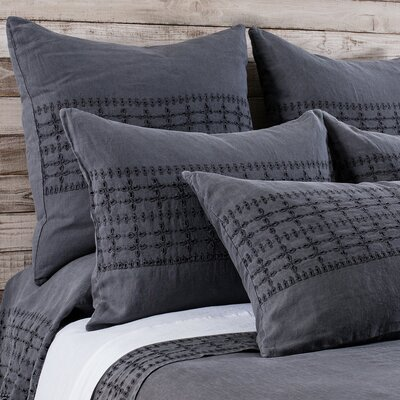 Layla Duvet Color: Midnight, Size: Queen