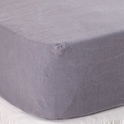 Fitted Sheet Size: Queen, Color: Slate