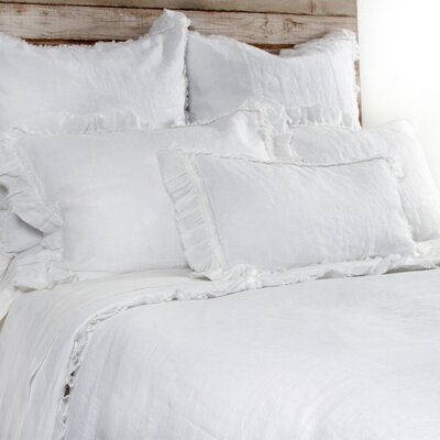 Mathilde Duvet Size: King, Color: White
