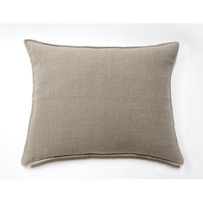 Montauk Linen Throw Pillow Color: Natural
