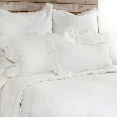 Mathilde Duvet Size: King, Color: Cream