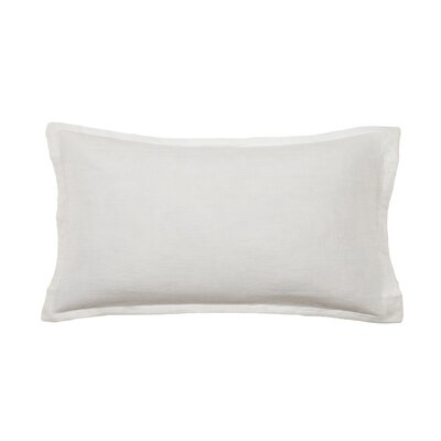 Louwie Linen Lumbar Pillow Color: Cream