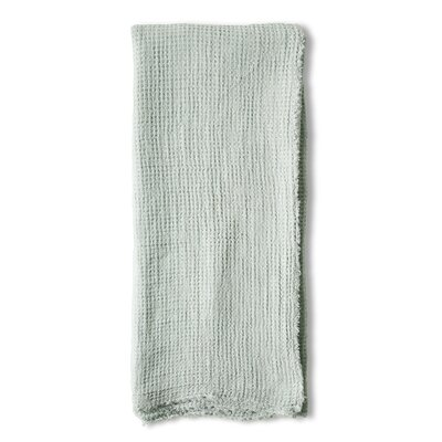 Venice Linen Throw Color: Ocean