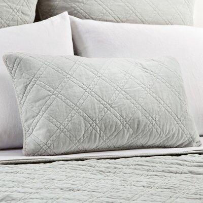 Brussels Cotton Lumbar Pillow Color: Seafoam