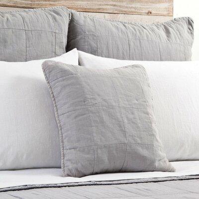 Antwerp Cotton Throw Pillow Color: Ocean