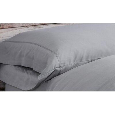 Bamboo Pillowcase Size: King, Color: Silver