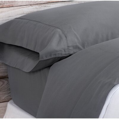 Bamboo Sheet Set Size: King, Color: Stone