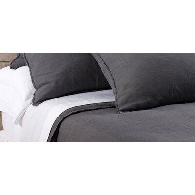 Blair Duvet Cover Size: King, Color: Midnight