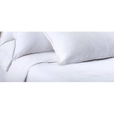 Blair Duvet Cover Color: White, Size: King