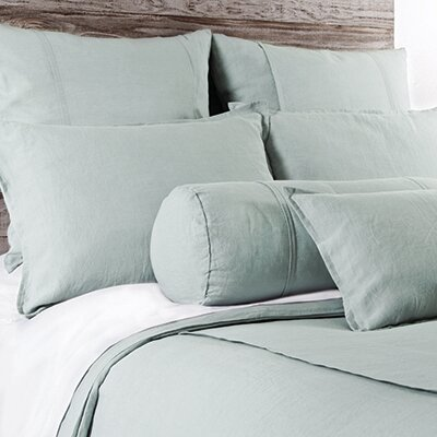 Louwie Decorative Boudoir Sham Color: Seafoam