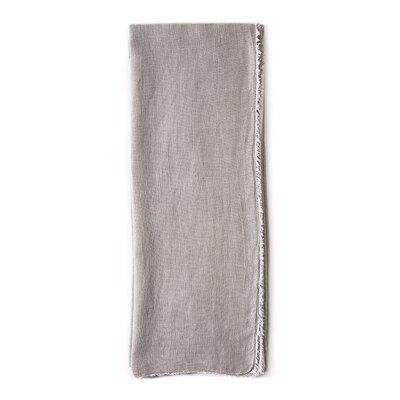 Carmel Linen Throw Color: Taupe