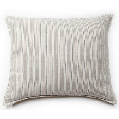 Laguna Big Throw Pillow Color: Natural / Midnight