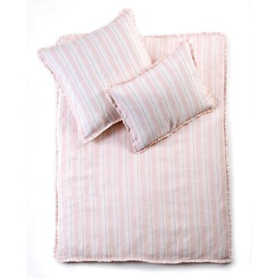 Mystic Baby Crib Duvet Cover Color: Pink