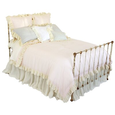 Celeste Duvet Size: King, Color: Pink/Cream