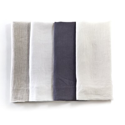 Louwie Pillowcase Size: Standard, Color: Flax