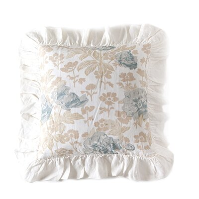 Sofia Linen Pillow Cover Color: Blue