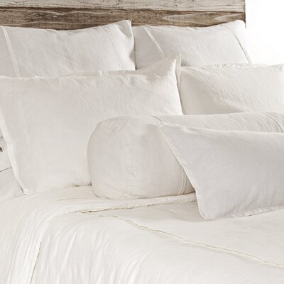 Louwie Duvet Size: Queen, Color: White