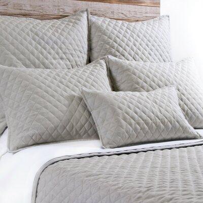 Hampton Linen Lumbar Pillow Color: Flax