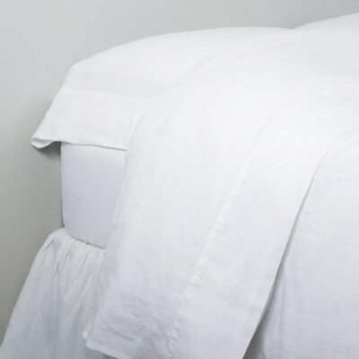 Linen Sheet Set Size: Twin