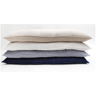 Montauk 100% Down Pillow Color: White