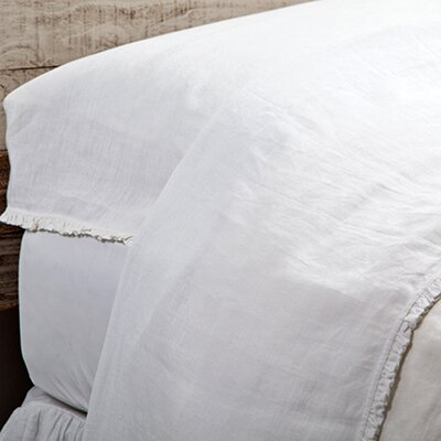Charlie Pillowcase Size: Standard, Color: White