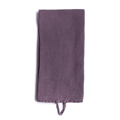 Chimay Hand Towel Color: Eggplant