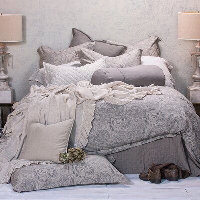 Sienna Sham Size: King, Color: Sea Glass